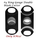 64 Ring Gauge Double Blade Cigar Cutter