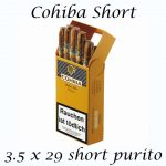 Cohiba Short Pack of 10