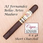 AJ Fernandez Bellas Artes Maduro Short Churchill COTY