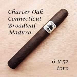 Charter Oak Connecticut Broadleaf Maduro Toro