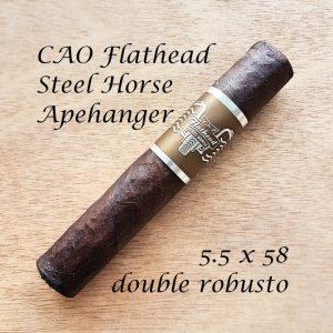 CAO Flathead Steel Horse Apehanger