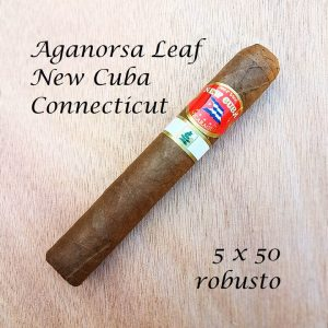 Aganorsa Leaf New Cuba Connecticut Robusto
