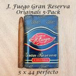J. Fuego Gran Reserva Originals 5-Pack
