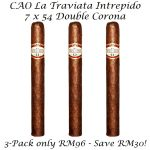 CAO La Traviata Intrepido 3-Pack