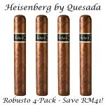 Heisenberg by Quesada Robusto 4-Pack